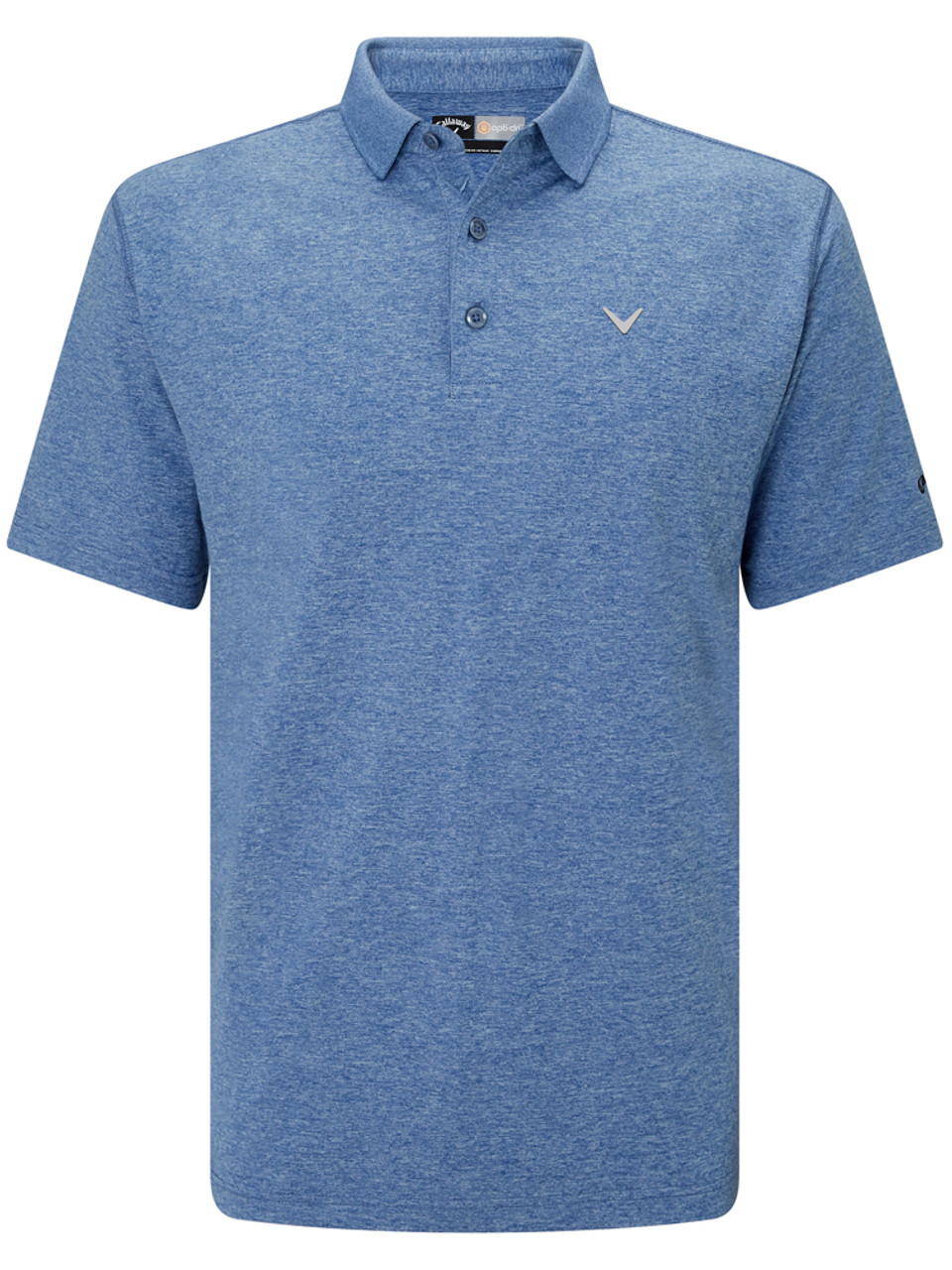 3c89baef9f Callaway Heathered Polo - Moonlight Heather - Mens For Sale | GolfBox