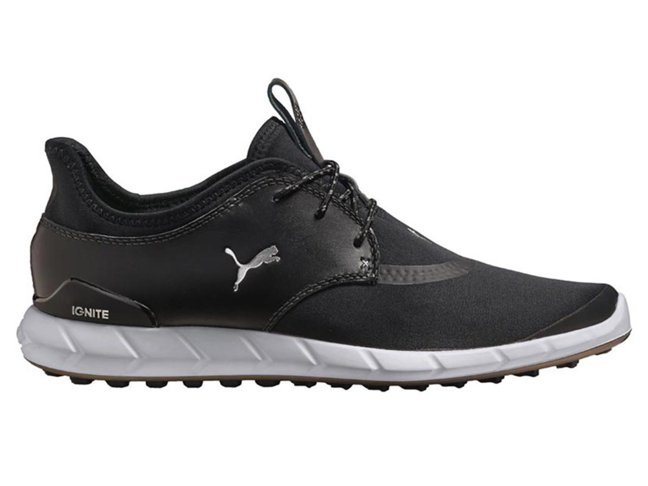 Puma Ignite Spikeless Sport Shoes Puma Black