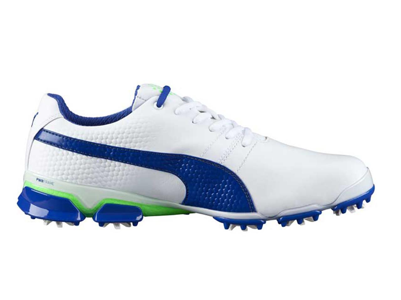 Puma Titan Tour Ignite Golf Shoes WhiteSurf The Web