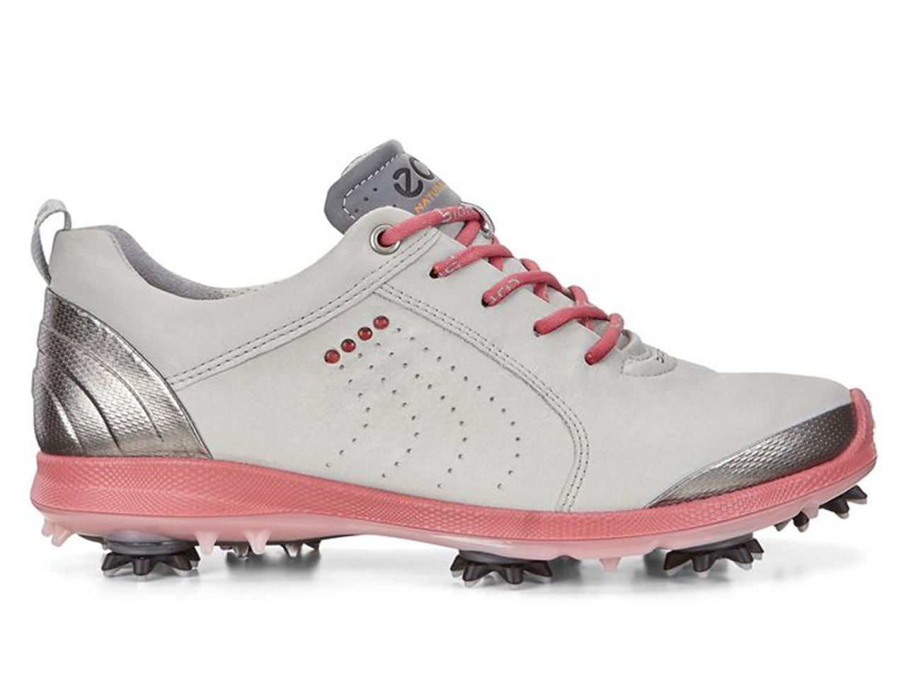 30994413 Ecco Ladies Biom G2 Golf Shoes - Concrete/Pink