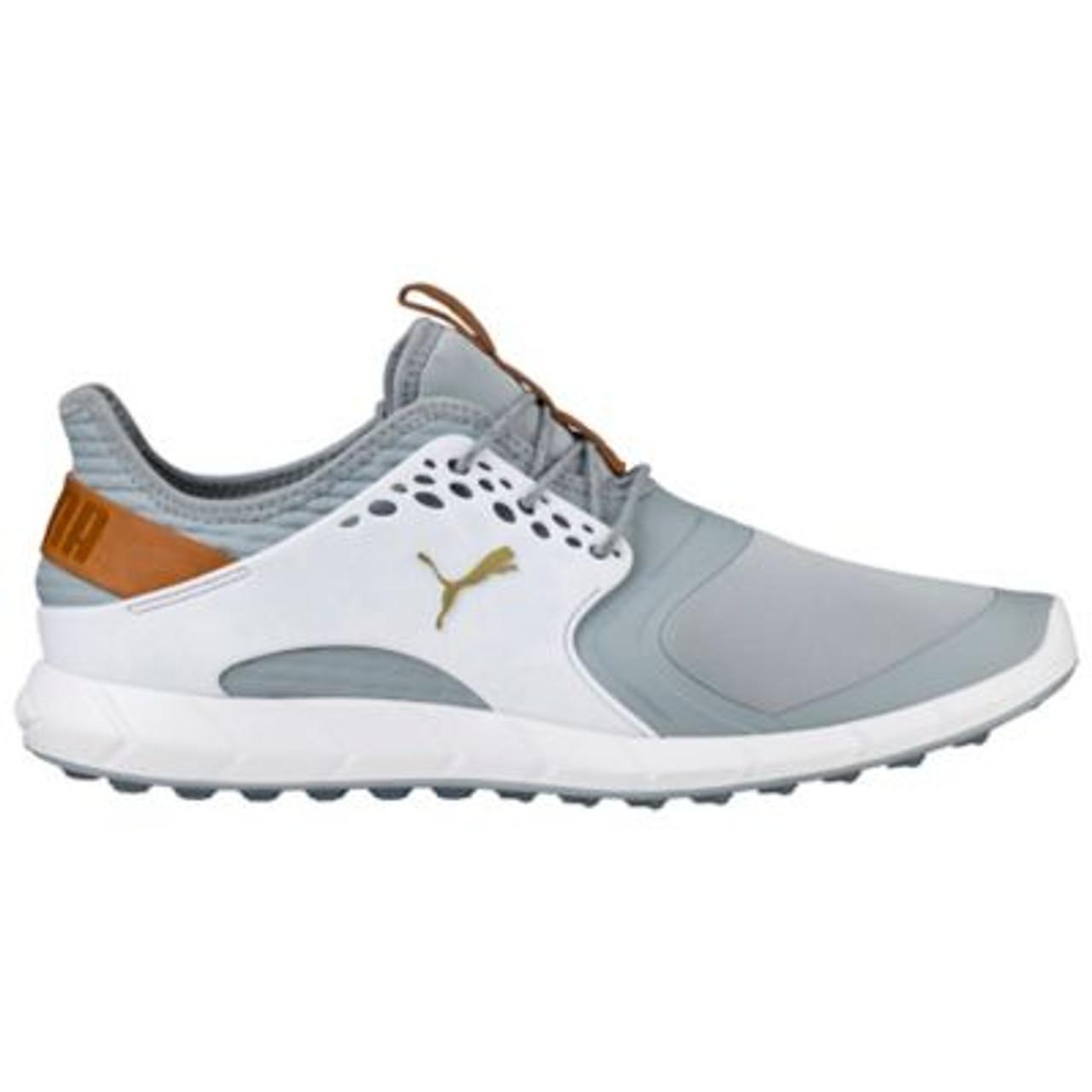 Puma Ignite PWRsport Shoes QuarryGoldWhite