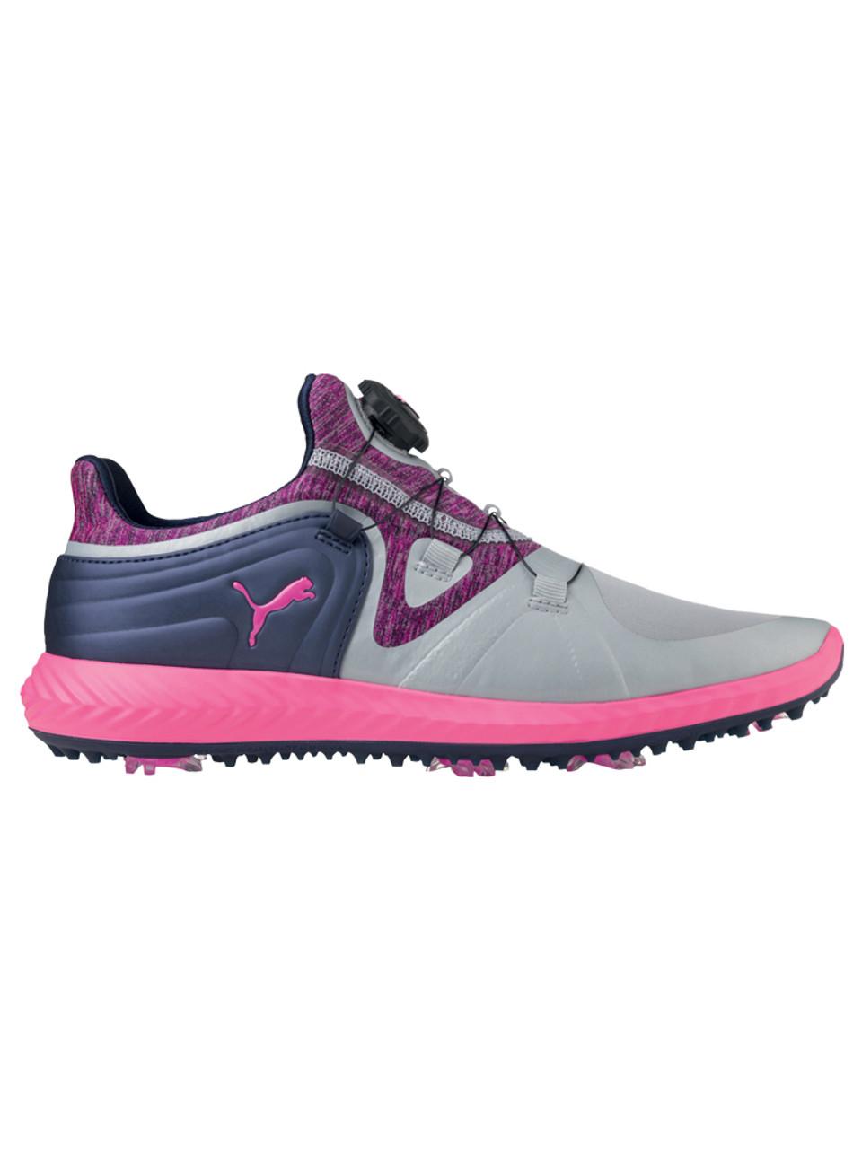 Puma W Ignite Blaze Sport DISC Shoes QuarryKnockout Pink