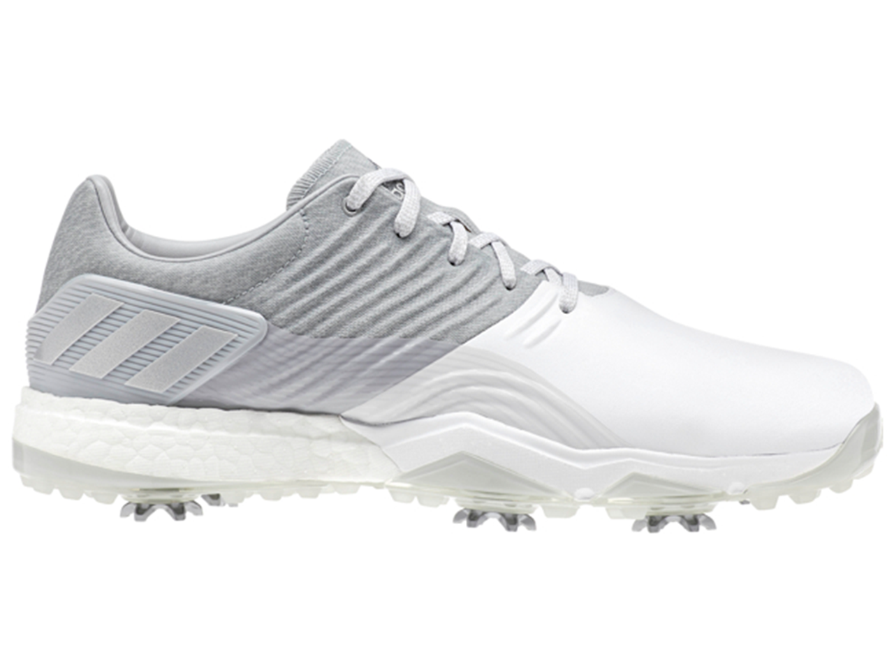 best website ae878 1e913 Adidas Adipower 4orged Golf Shoes - Clear OnixWhiteSilver -