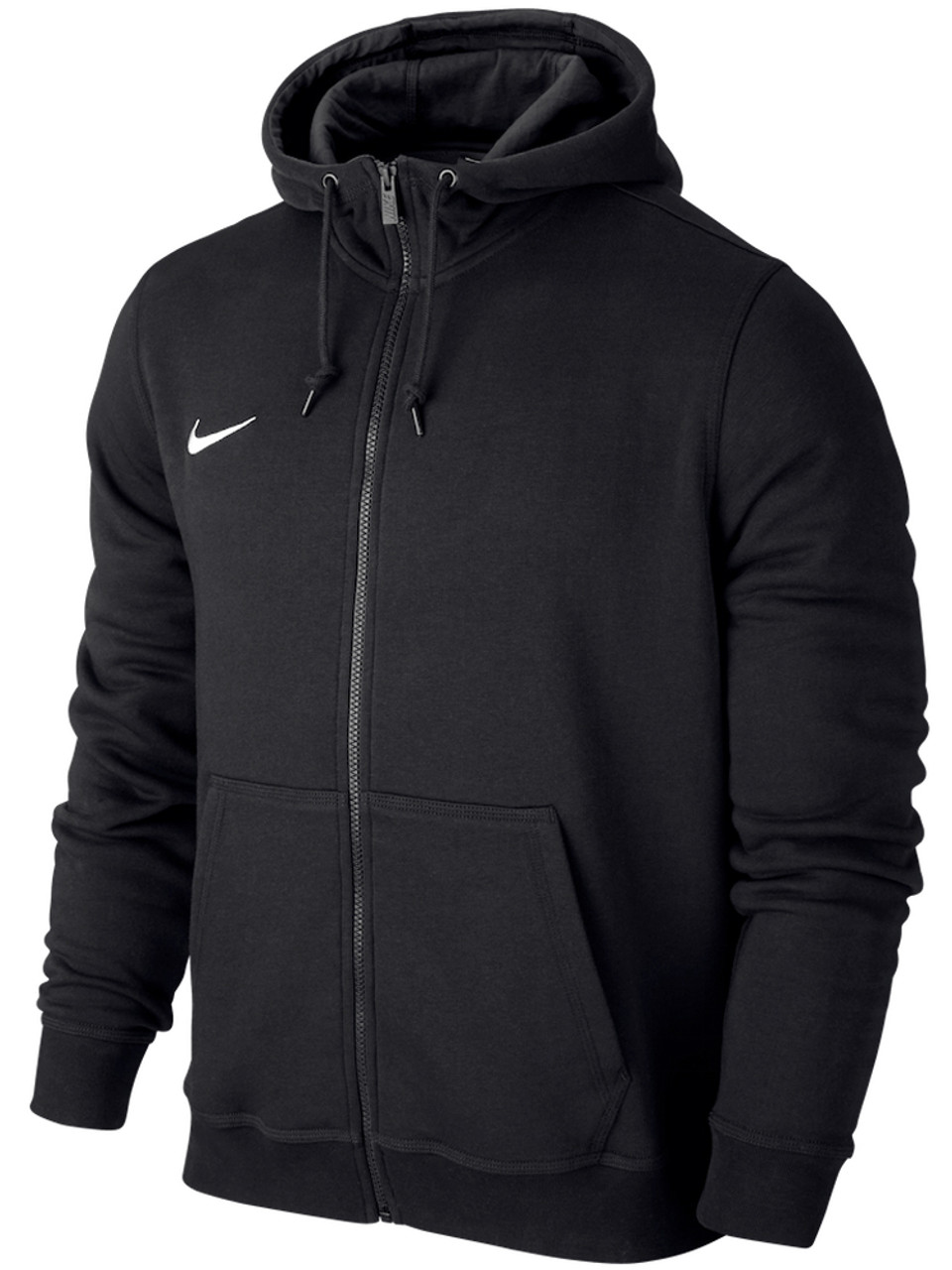 calidad estable conseguir baratas varios tipos de Nike Team Club FZ Hoodie - Black/White | GolfBox