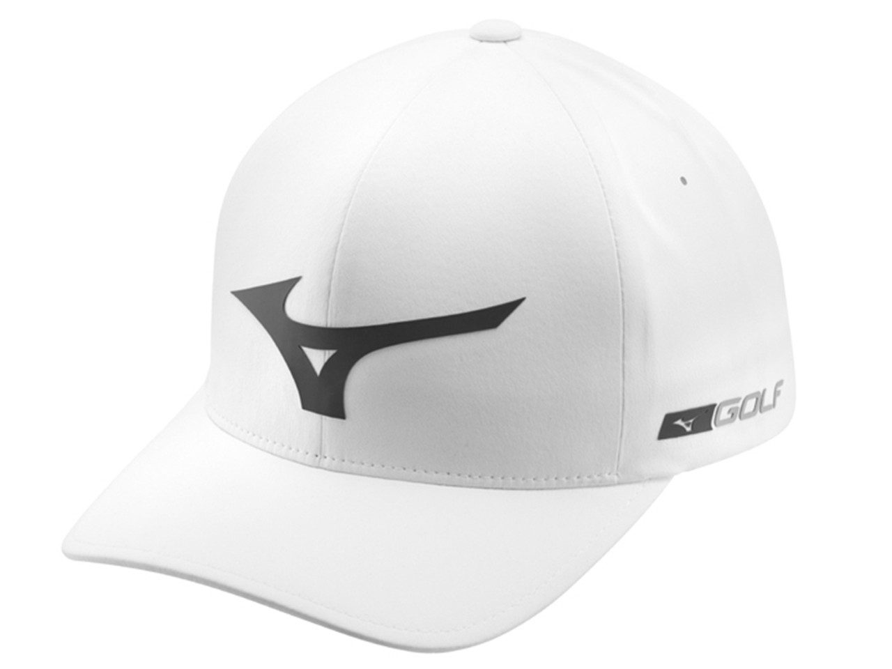3a405b07d3449 Mizuno Tour Delta Cap - White - Mens - Polyester For Sale