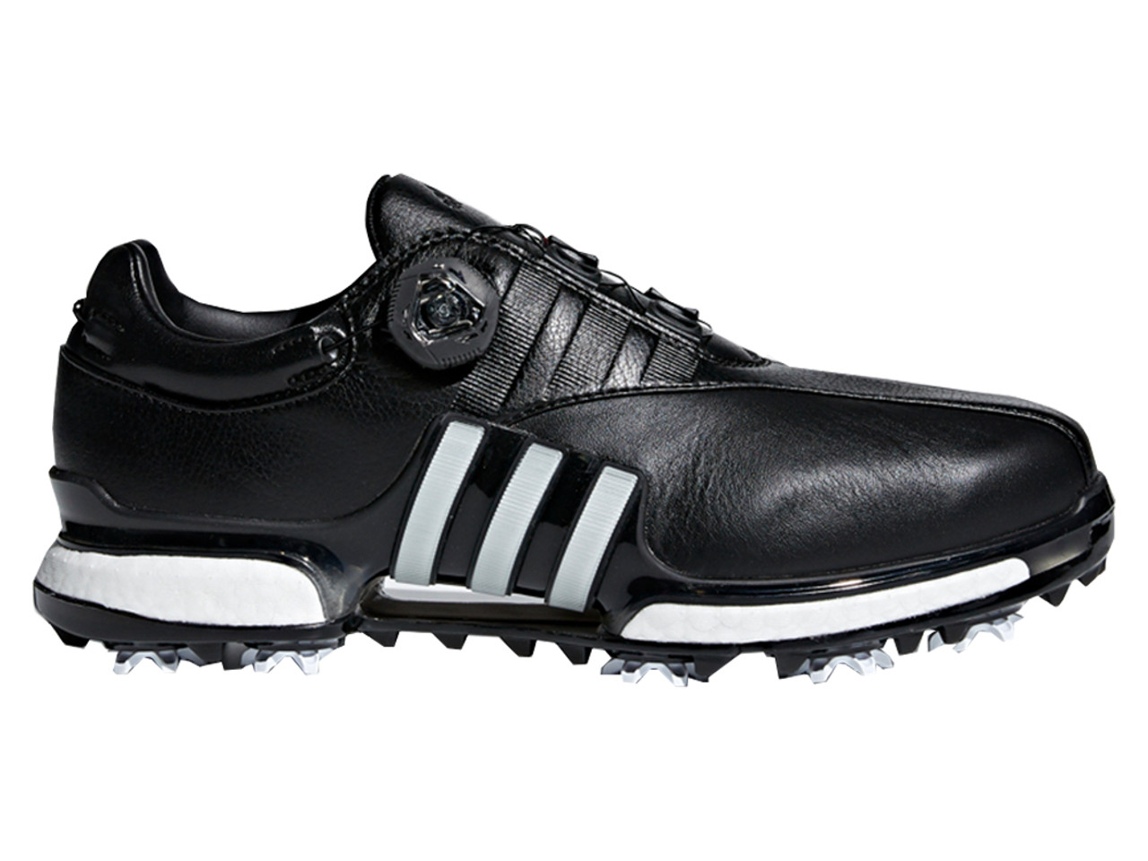pretty nice d6752 61aa9 Adidas Tour360 Boost EQT BOA Golf Shoes - Core BlackWhite