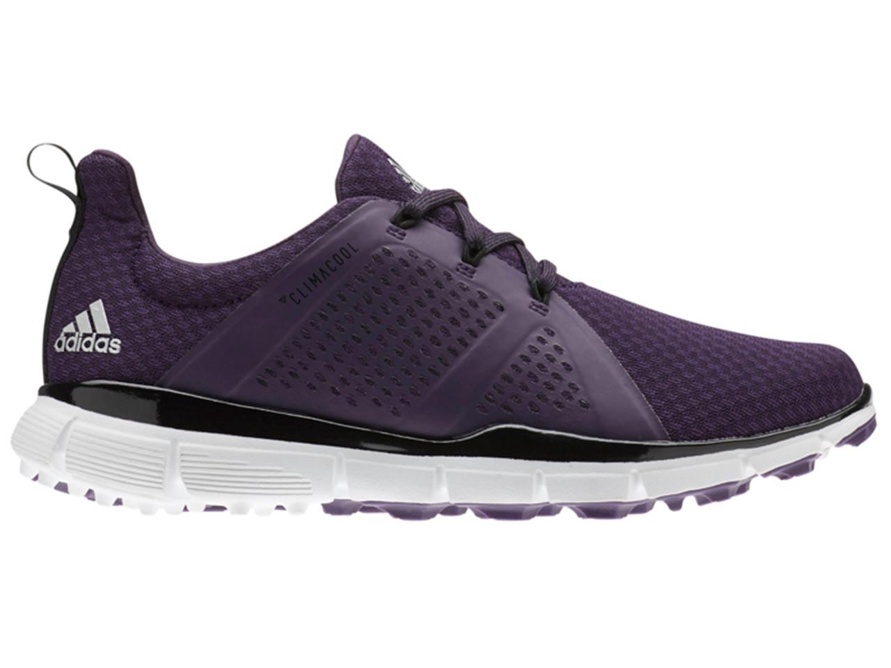 info for 529f1 a9d26 Adidas W Climacool Cage Golf Shoes - Legend Purple Black