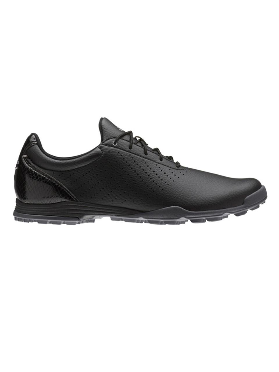 Adidas Ladies Adipure SC Golf Shoes - Core Black Silver Met. Adidas b59f080b8