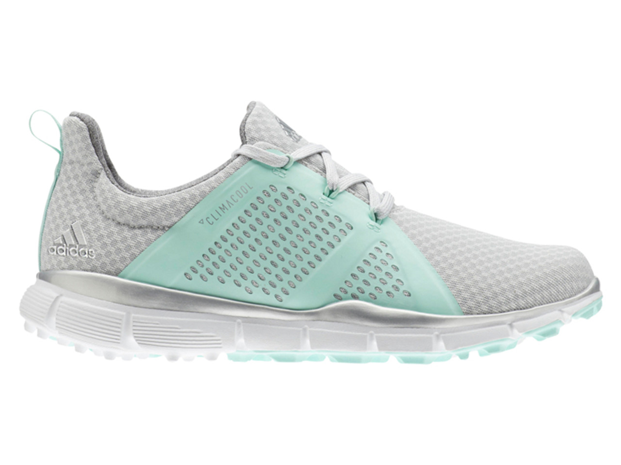 d2978dae7db Adidas W Climacool Cage Golf Shoes - Grey One F17 Clear Mint ...