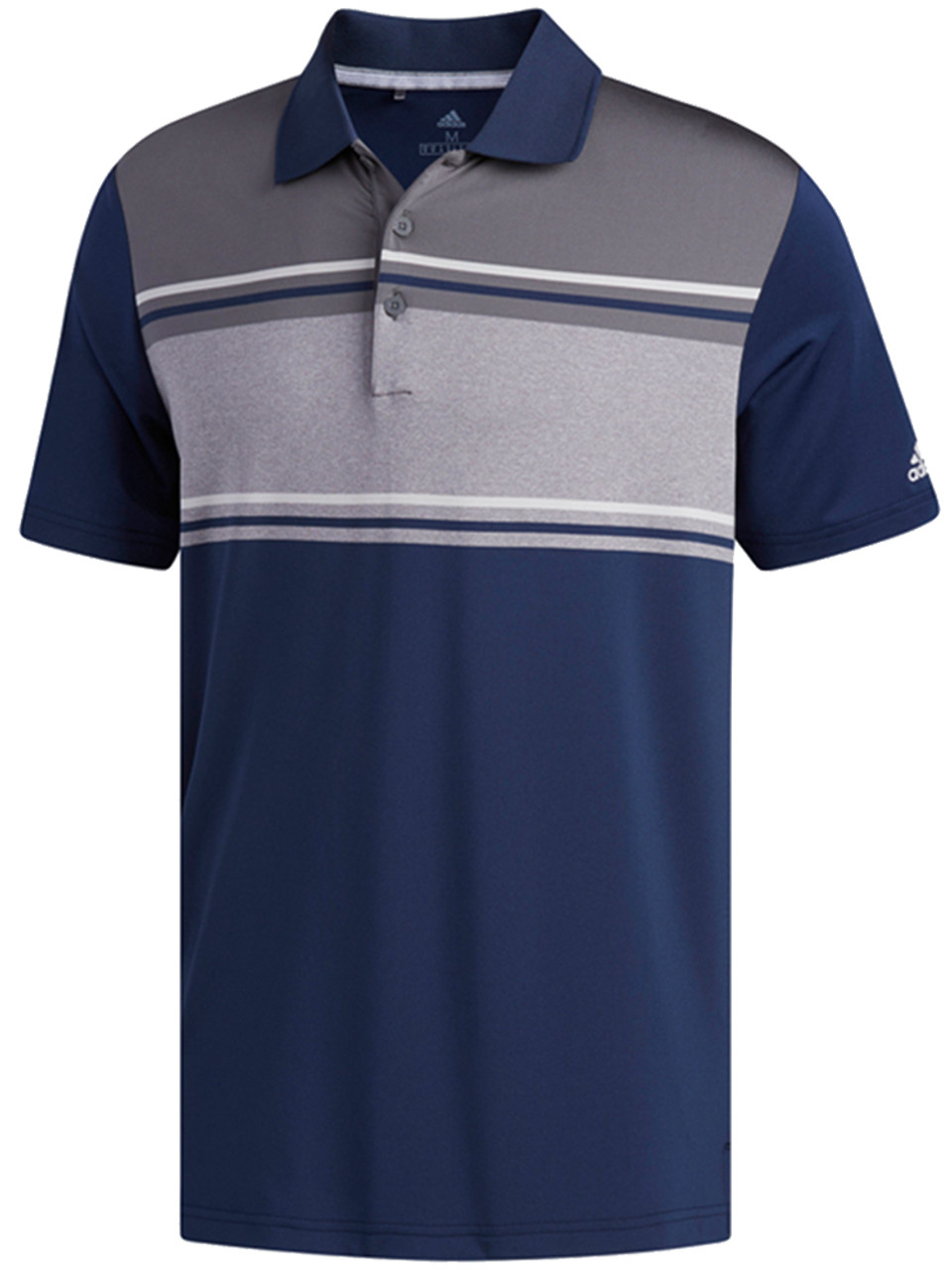 10ee2e6f Adidas Ultimate 2.0 Classic Merch Polo - Col Navy/Grey Five - Mens ...