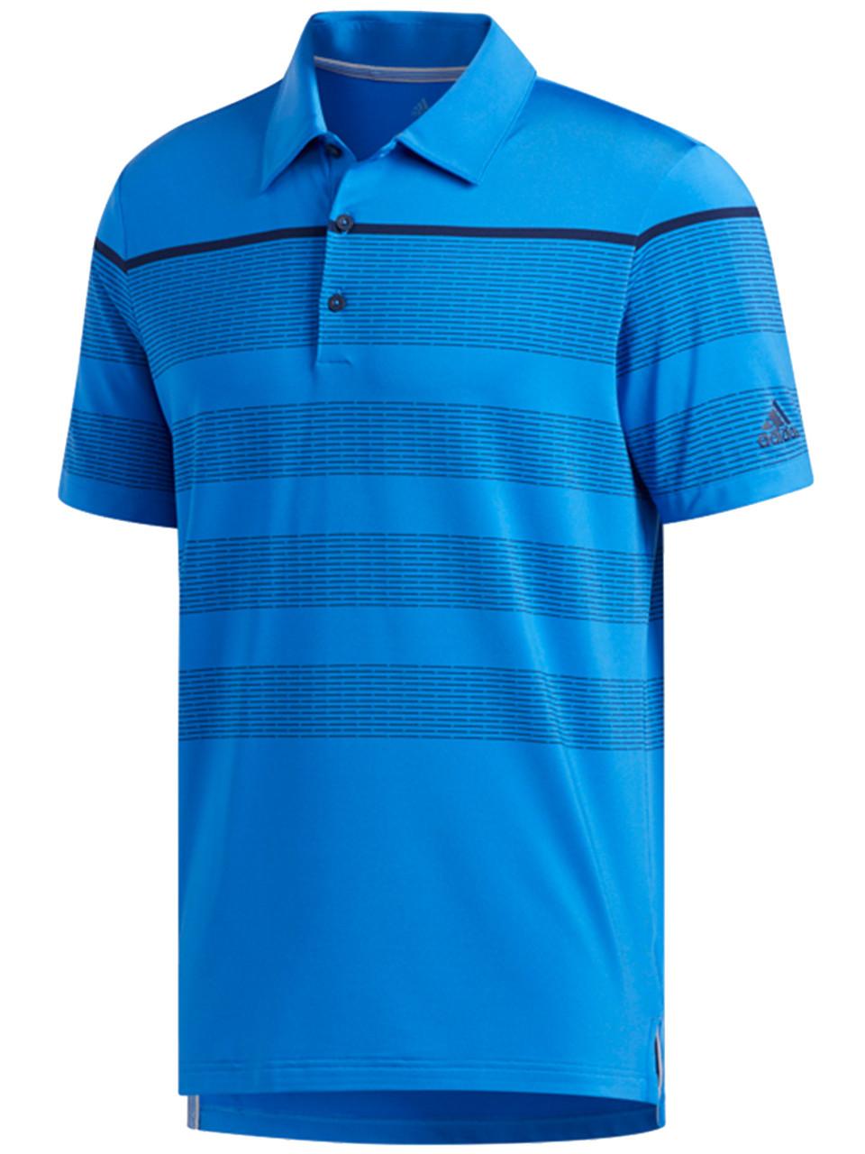 662b3aa6 Adidas Ultimate365 Dash Stripe Polo - True Blue/Navy - Mens For Sale    GolfBox