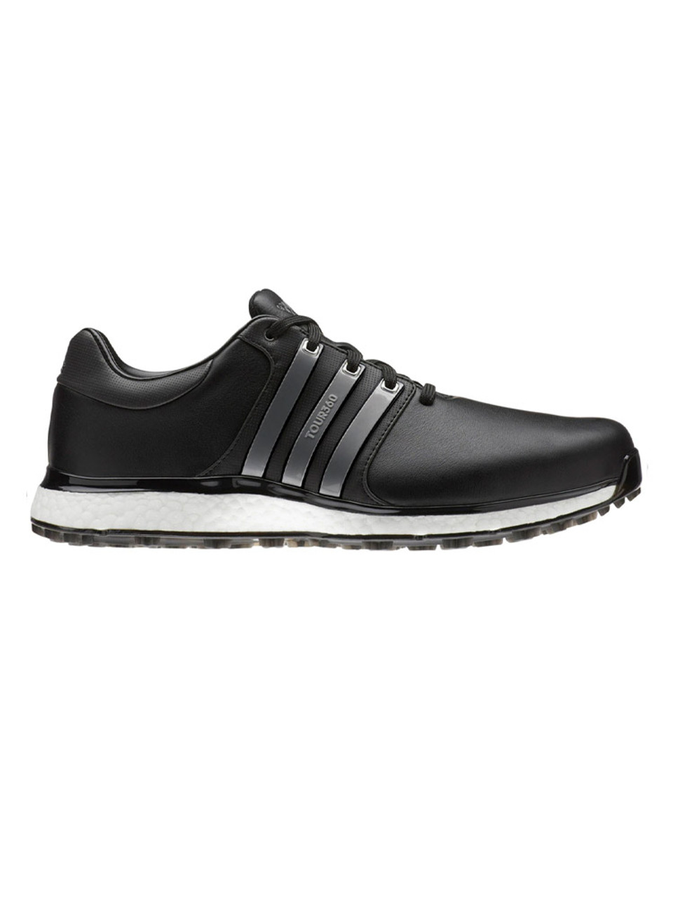e9e00b350bd1 Adidas Tour360 XT-SL Golf Shoes - Core Black Iron Met White - Mens ...