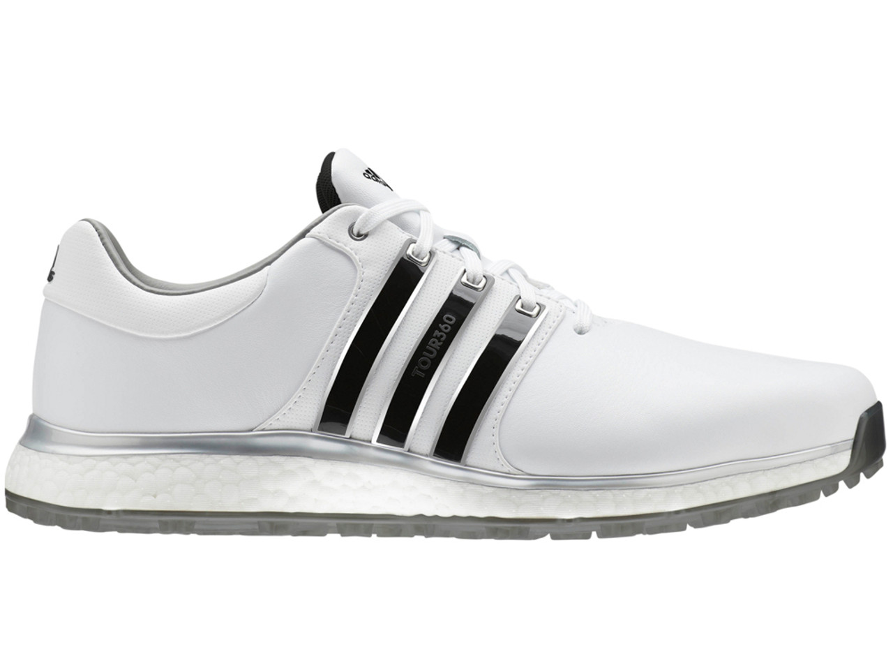 4da10321d9f Adidas Tour360 XT-SL Golf Shoes - FTWR White Silver Met. - Mens For ...