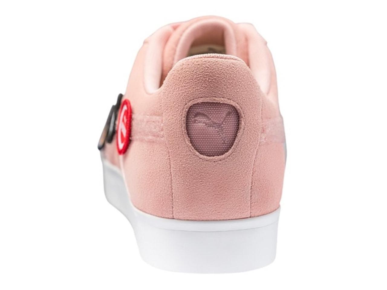 Puma LE Suede G Patch Golf Shoes Bridal Rose
