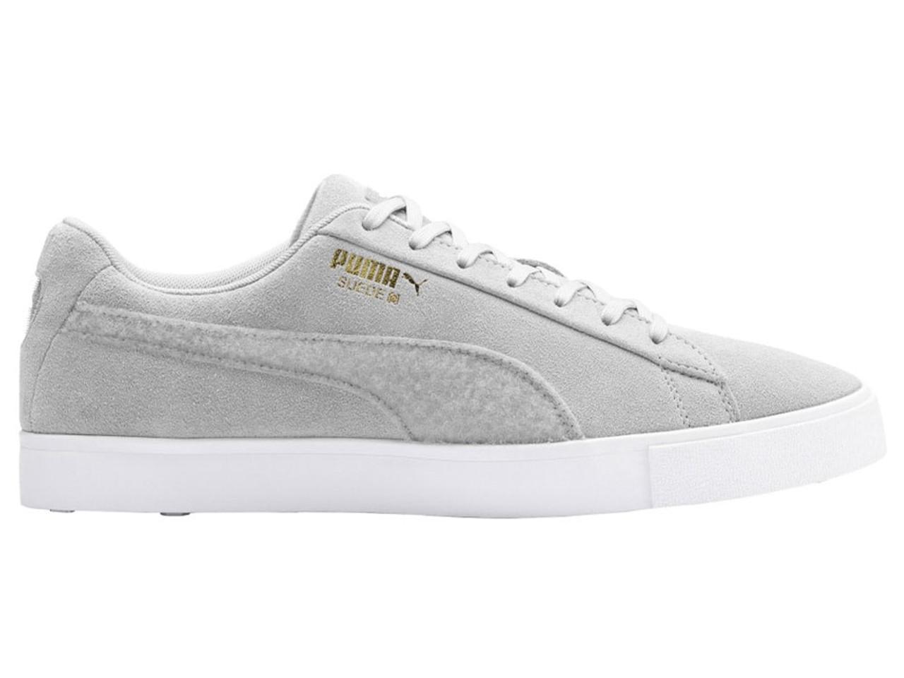 Puma LE Suede G Patch Golf Shoes Quarry