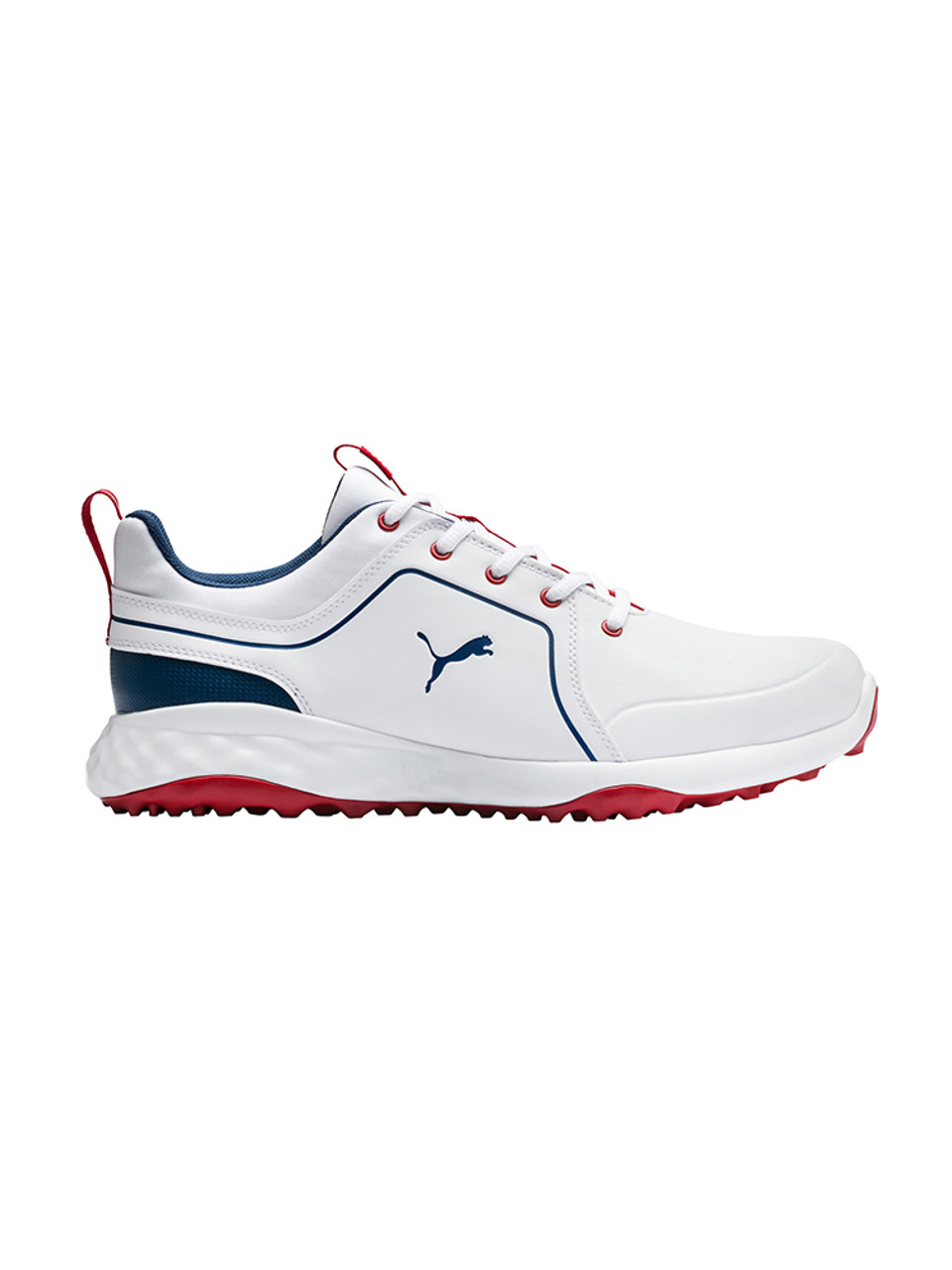 Puma Grip Fusion 2.0 Golf Shoes Puma WhiteDark Denim