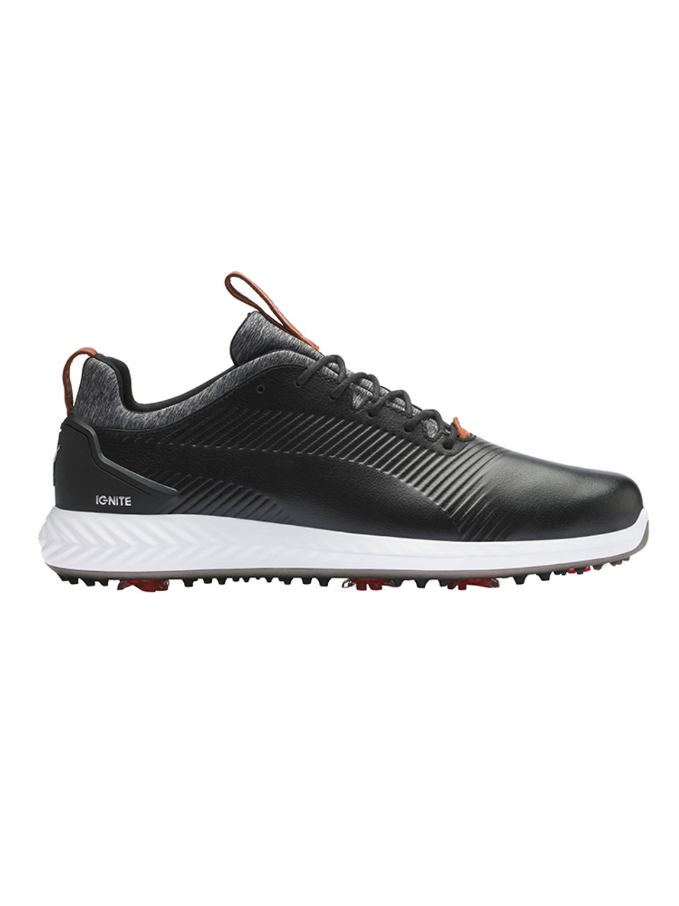 Puma IGNITE PWRADAPT Leather 2.0 Golf Shoes Puma Black