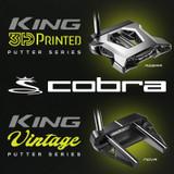 Cobra KING Putters - 3D Printed & Vintage