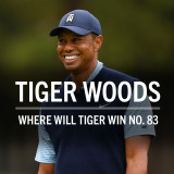 Where will Tiger win No. 83?
