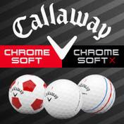 Callaway Chrome Soft and Chrome Soft X Golf Balls