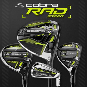 Cobra RAD Speed Range of Golf Clubs