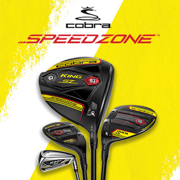 Cobra King Speedzone Range of Clubs
