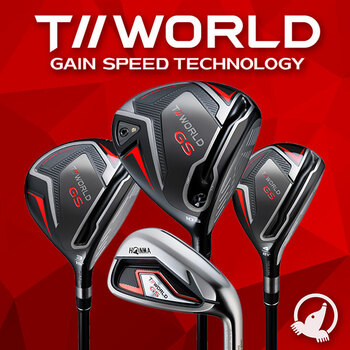 Honma T//World GS Range of Golf Clubs