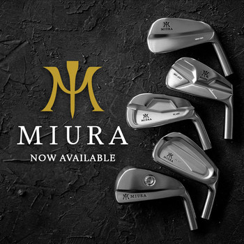 Miura Irons and Wedges
