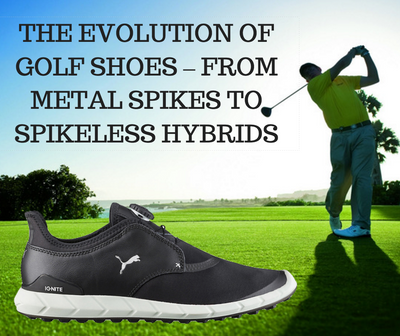 The Evolution Of Golf Shoes - Spiked to Spikeless | GolfBox