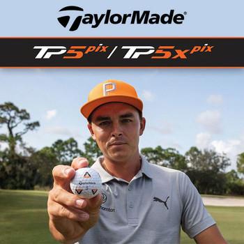 TaylorMade TP5 & TP5x pix Golf Balls (2020)