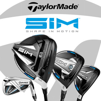 TaylorMade SIM Range of Golf Clubs