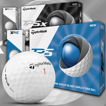 The New 2019 TaylorMade TP5 & TP5X Golf Balls