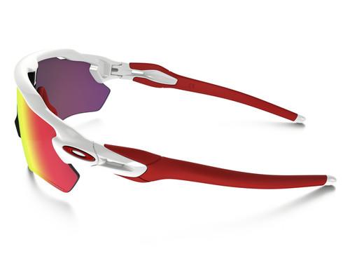 Oakley Radar EV Path Sunglasses - White w/ PRIZM Road
