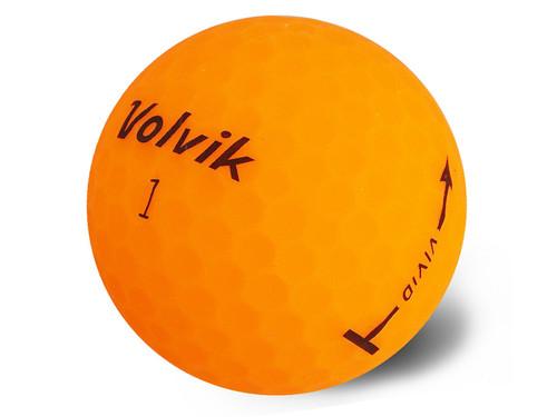 Volvik Vivid Golf Balls - 1 Dozen Orange
