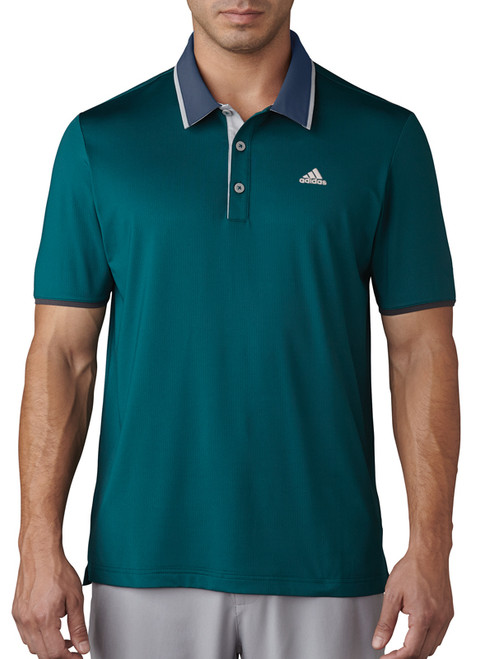 Adidas Climacool Performance Polo - Rich Green