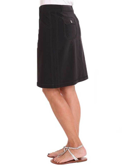 Birdee Golf Techno Stitch Skort - Black