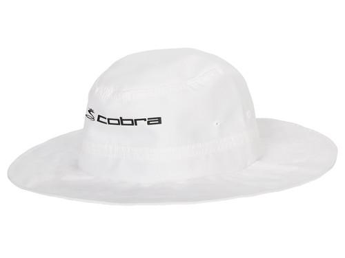 Cobra Sun Bucket Hat - White