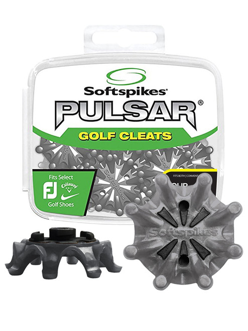 SoftSpikes Pulsar Golf Cleats Tour Lock Silver