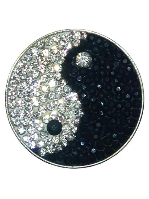 Navika Micro Pave Crystal Yin To My Yang Marker