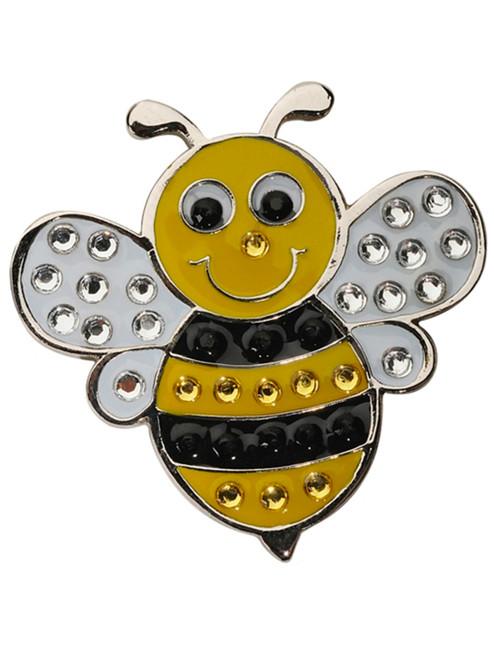 Navika Swarovski Crystal Bumble Bee Marker