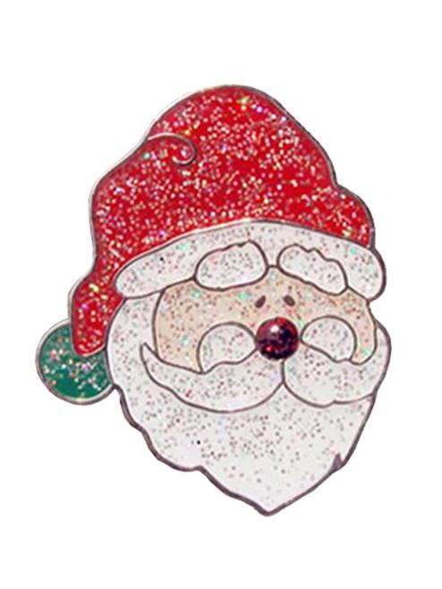 Navika Glitzy Santa Ball Marker