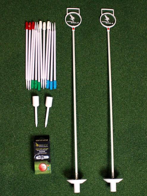 Premier Glow Backyard Night Golf Kit