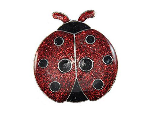 Navika Glitzy Ladybug Ball Marker