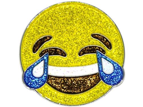 Navika Glitzy Emoji LMAO Ball Marker