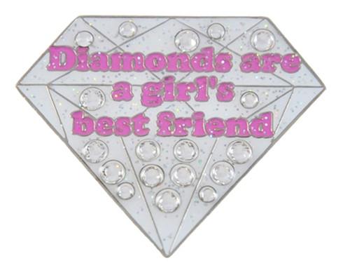 Navika Swarovski Crystal Diamonds Are A Girls BF Marker