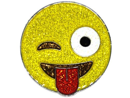 Navika Glitzy Emoji JK Ball Marker