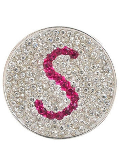 Navika Micro Pave Crystal Initial S Marker