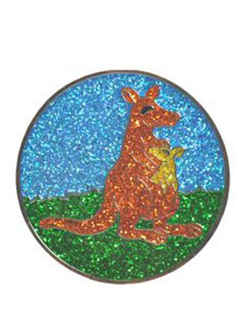 Navika Glitzy Kangaroo Ball Marker