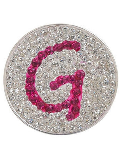 Navika Micro Pave Crystal Initial G Marker