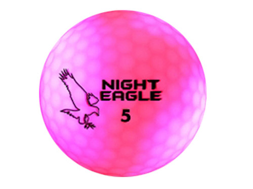 Night Eagle CV Night Golf Ball - Pink